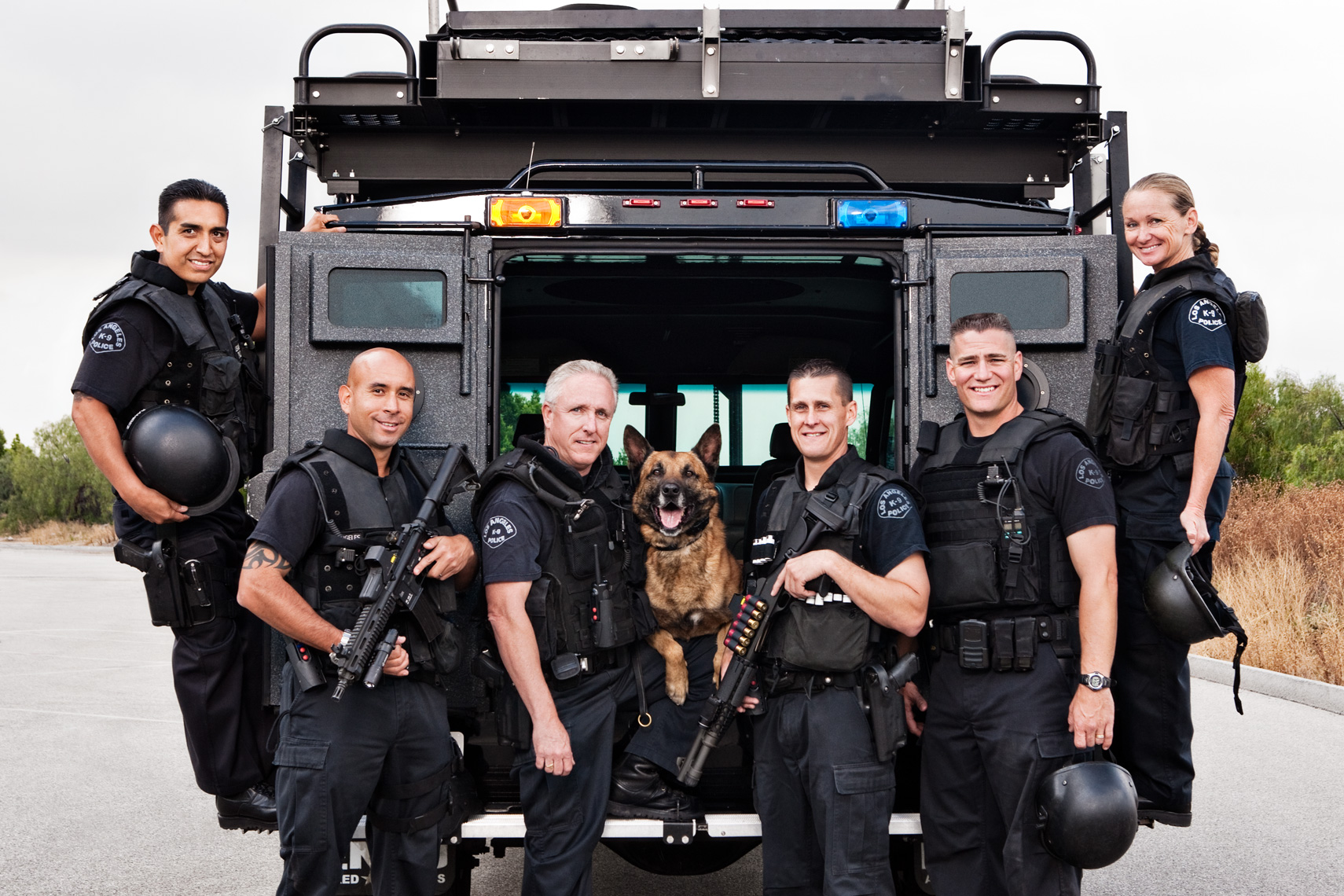 Los Angeles Dog Photography, Michael Brian, LAPD K-9 Unit, Blegian Malinois, Cesar Millan, Los Angeles Police Department, Cesar