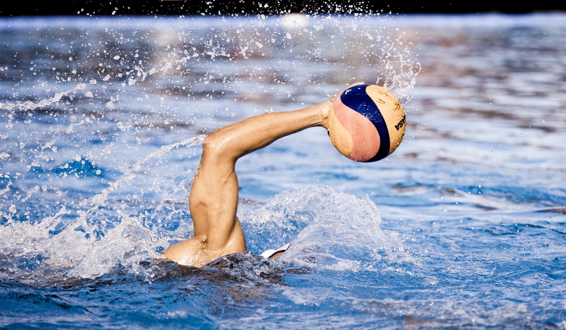 Los Angeles Sports Photography, Michael Brian, athlete, USA Water Polo. US Olympic Water Polo