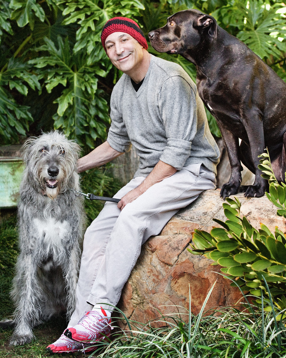 Los Angeles Dog Photography, Michael Brian, Sam Simon, The Simpsons, Philanthropist, PETA, Director, Producer, Writer, world leading animal rights activist