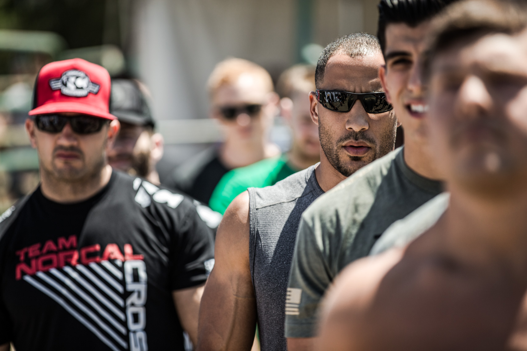 Los Angeles Sports Photography, Michael Brian, Jason Khalipa, Neil Maddox, Garret Fisher, Reebok Crossfit Games athletes, Rogue, game face