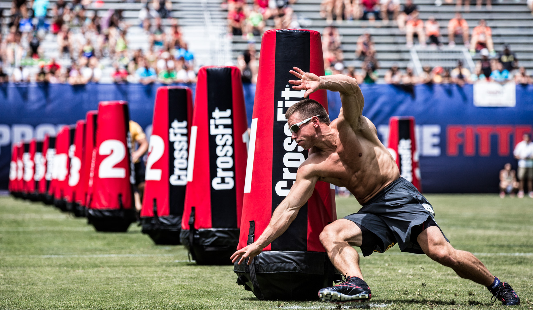 Los Angeles Sports Photography, Michael Brian, athlete, Crossfit, Dan Bailey, Zigzag Sprint, Reebok Crossfit Games athlete, StubHub Center