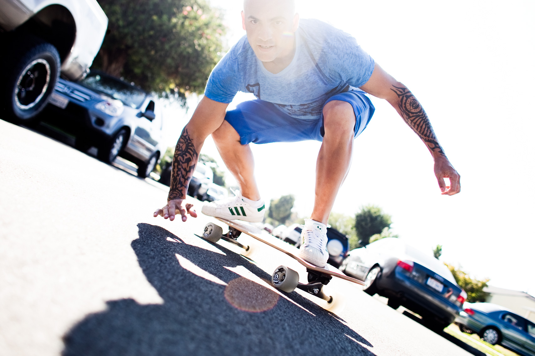 Los Angeles portrait Photography, Michael Brian, dog, pet, cat, Dog Trainer, Tyson Kilmer skateboarding
