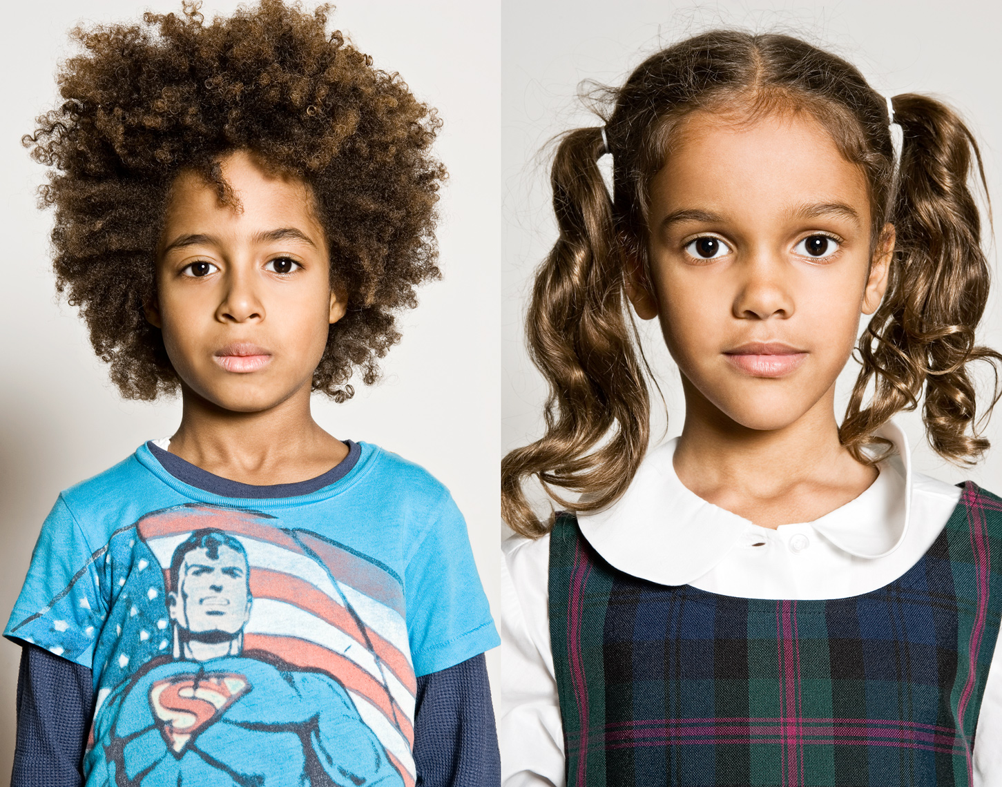 School portraits, Michael Brian Photography, Los Angeles, elementary school girl and boy